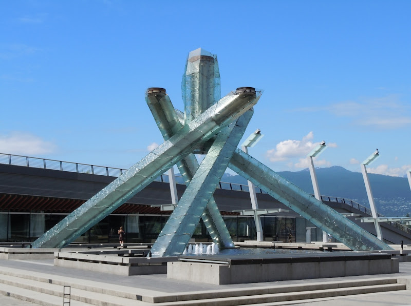 Olympic Cauldron Vancouver Aug 2011
