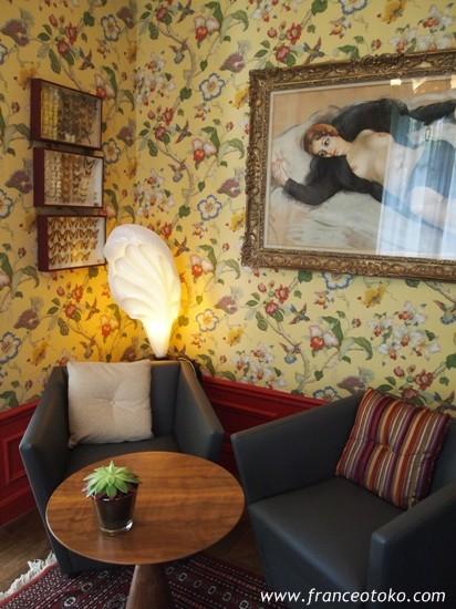 le jardin des plumes ルジャルダンデプリュム、Givernyジヴェルニーの高級レストラン、ノルマンディのレストラン
