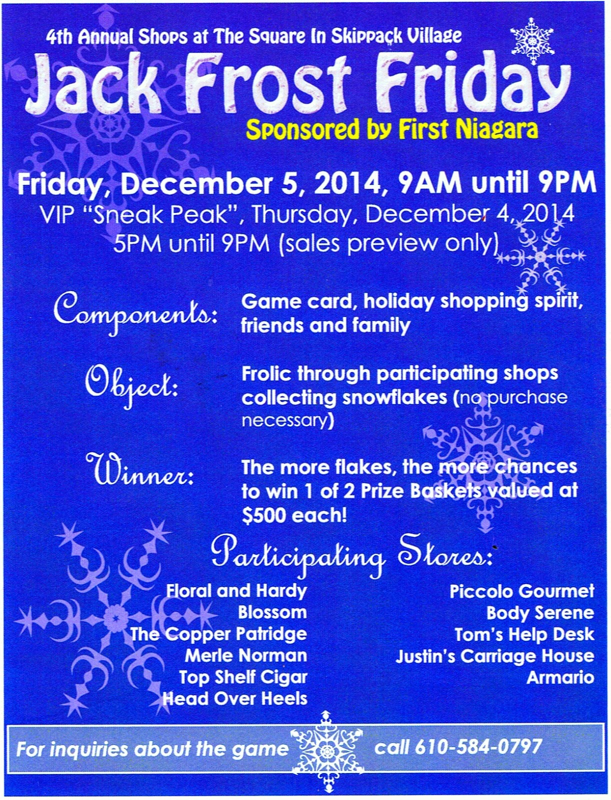 jack frost friday, first friday, illuminaire night