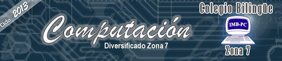 Computación IMB-PC Zona 7