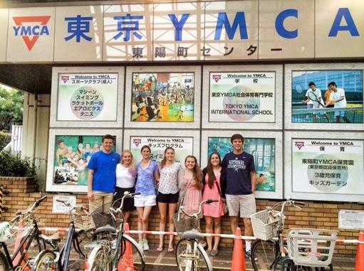 ymca 日本留學