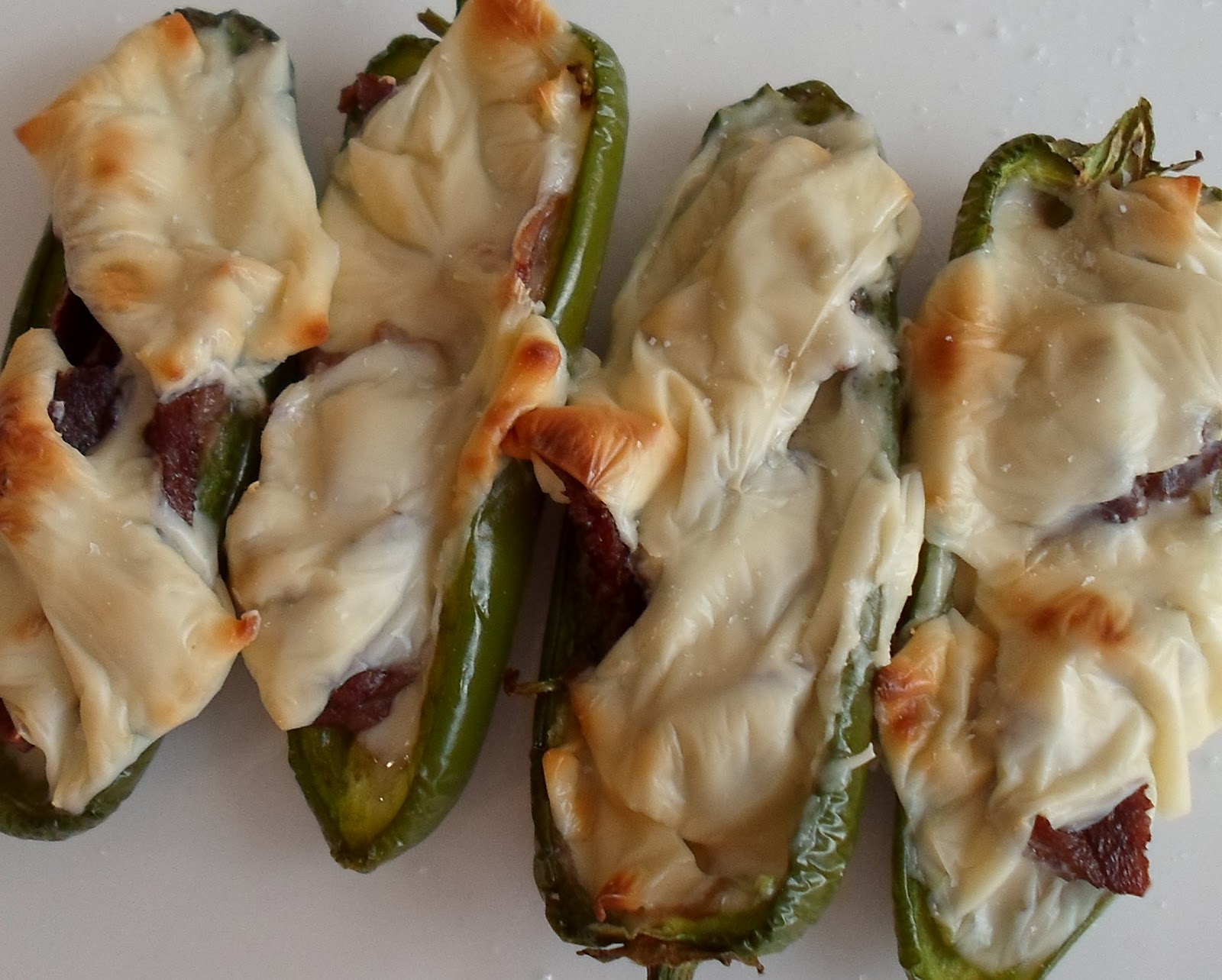 Happier Than A Pig In Mud Cheese Steak Stuffed Jalapenos