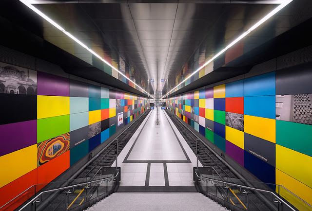 Munich subway photography, by Nick Frank (via nestpearls.blogspot.fr)