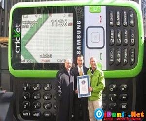 Ponsel terbesar didunia