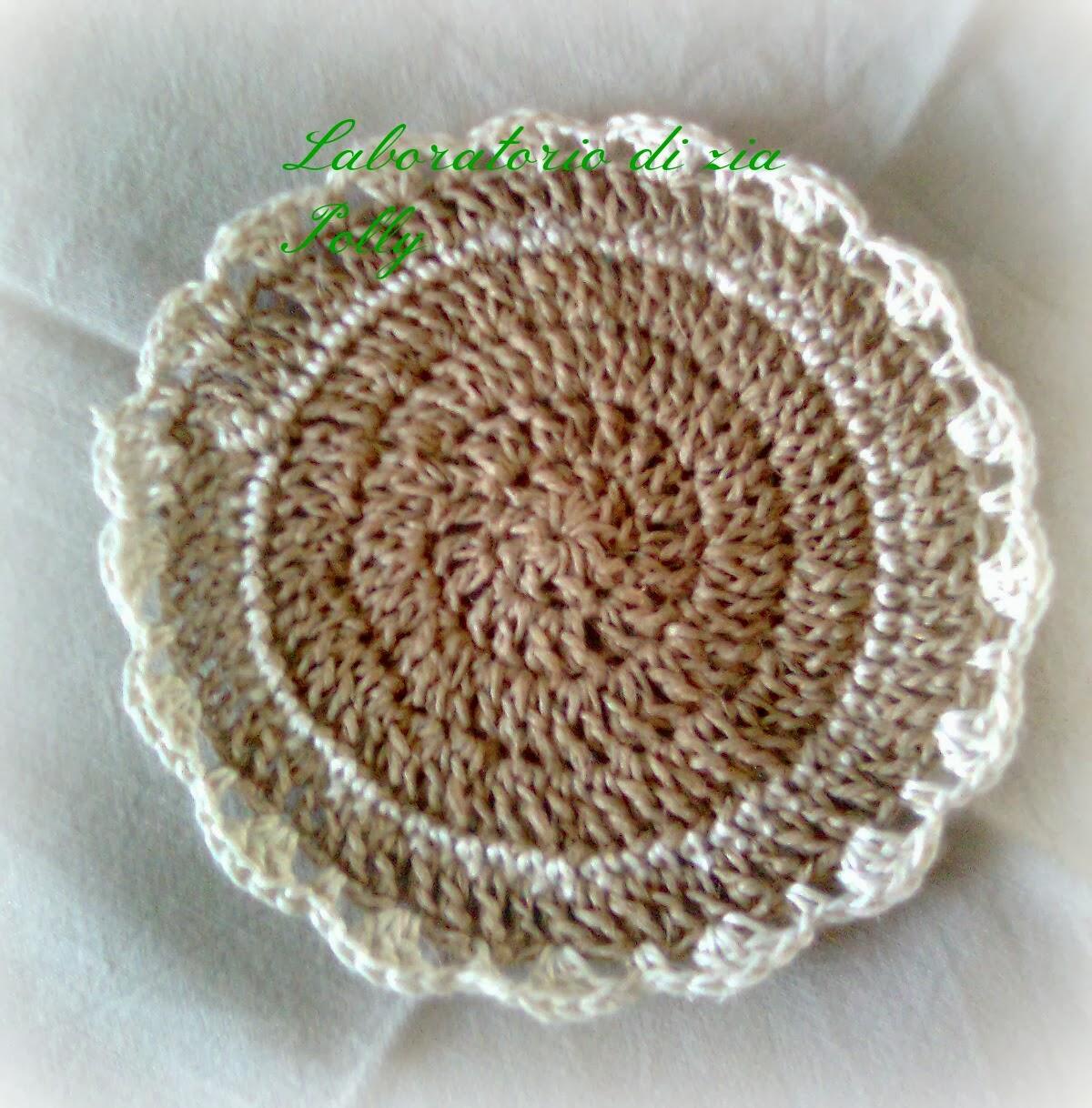 Laboratorio di zia Polly: Poggiapentole o poggia teiera creata con lo spago a crochet