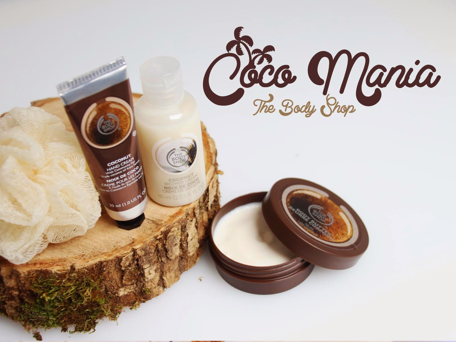 The body shop noix de coco