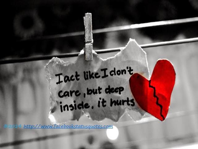 ... Facebook Status Quotes: Sad Love Broken Heart Status in Hindi