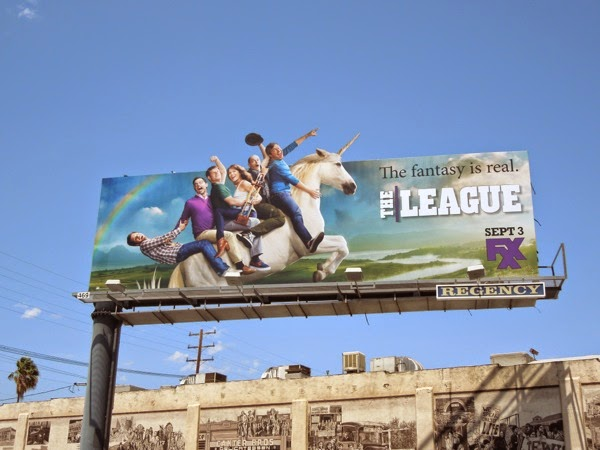 The League season 6 special extension billboard