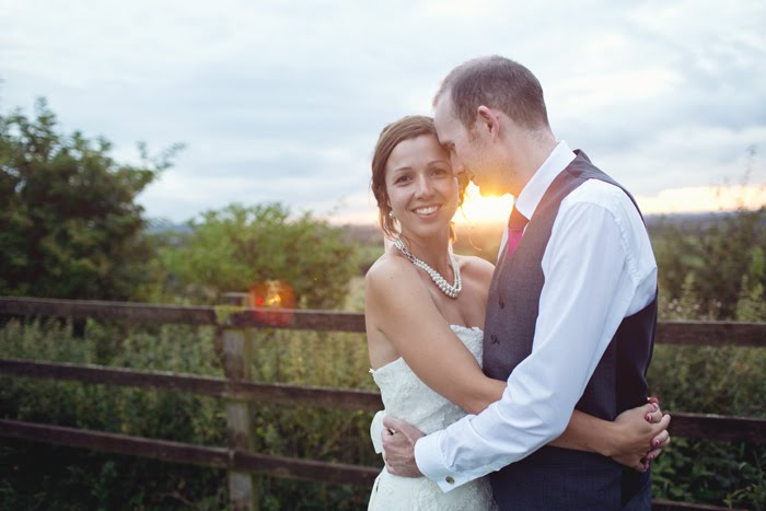 sunset wedding at tutbury castle, midlands wedding photographer, alternative wedding photography