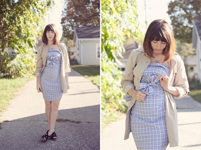 Платье-рубашка своими руками из рубашки