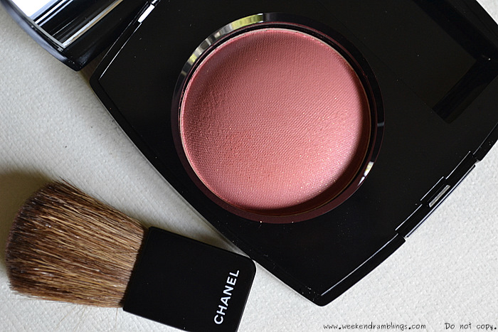 chanel joues contrate blushes malice 2012 makeup look swatches reviews fotd beauty blog
