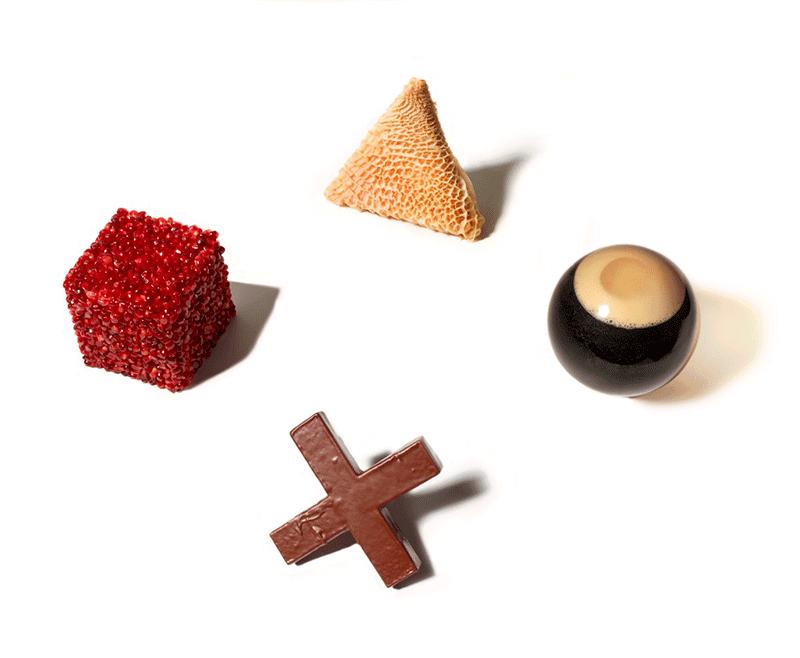 estilismos comestibles de Andrew Stellitano