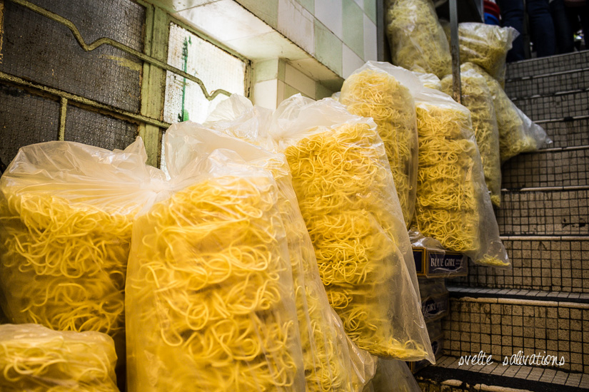 E-fu Noodle Patties at Kau Kee Restaurant | Svelte Salivations