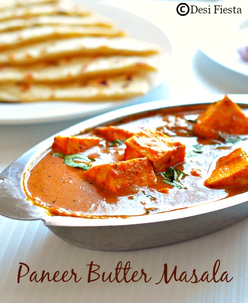 Recipe with Paneer