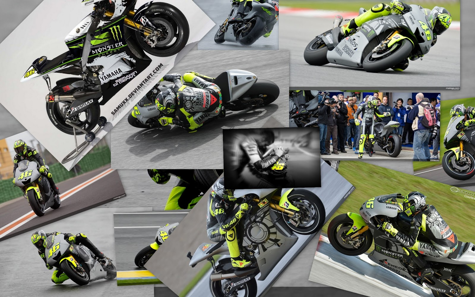Valentino rossi motogp 2013 theme for windows 7 and 8 ouo themes valentino rossi wallpaper 2013 voltagebd Image collections