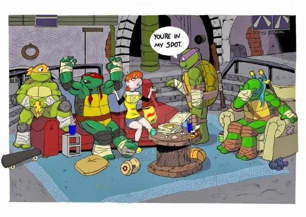 The Big Bang Theory Mashup Ninja Turtles