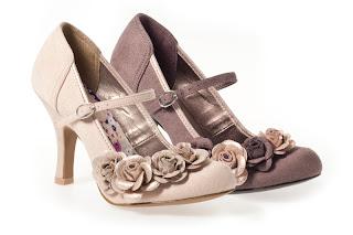Ruby Shoo Bancroft Kitten Heel Shoe