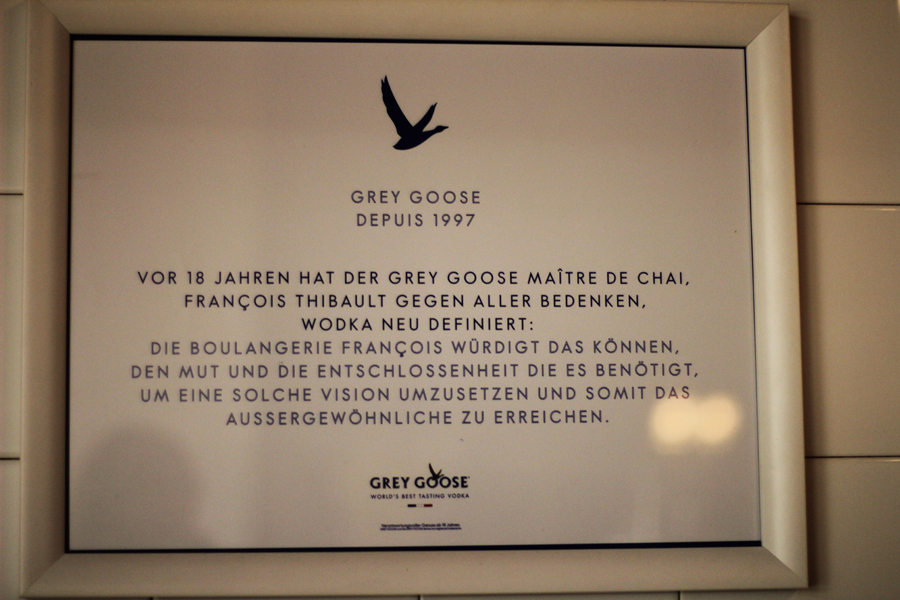 boulangerie grey goose