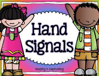 Hand Signals, Hand Signals Management, Classroom Hand Signals, Hand Signals Posters