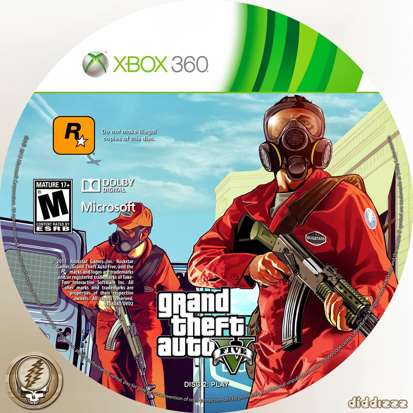 gta v xbox 360 disc 2 iso download