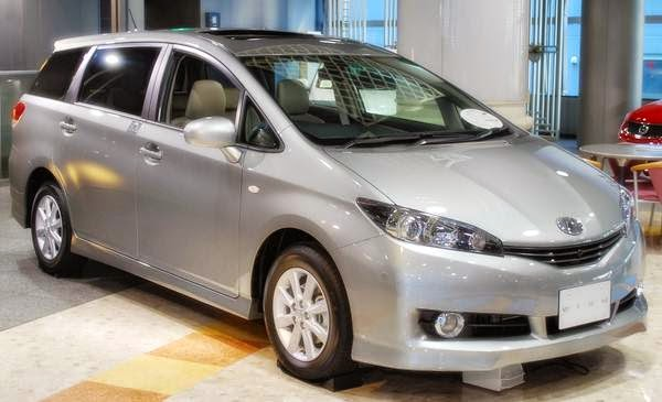 2015 Toyota Wish Space Australia