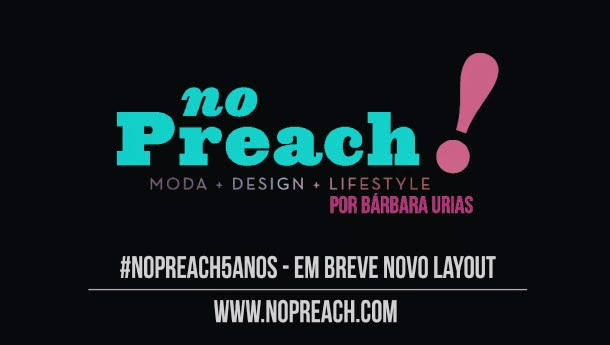 Aniversário do blog No Preach