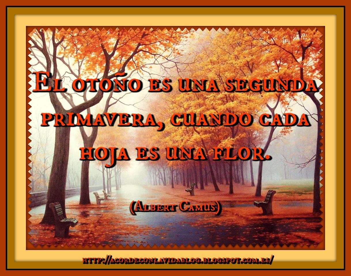 * ¡Bienvenido otoño! *