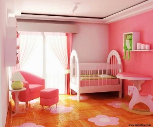 superbe décoration pour chambre bébé fille