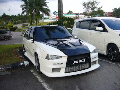 Iswara / Saga LMST Evo X body kit