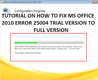 microsoft outlook product activation failed message