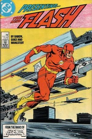 Flash #1 Volume 2 comic cover