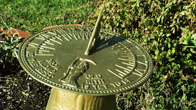 sundial catching the days sun royalty free