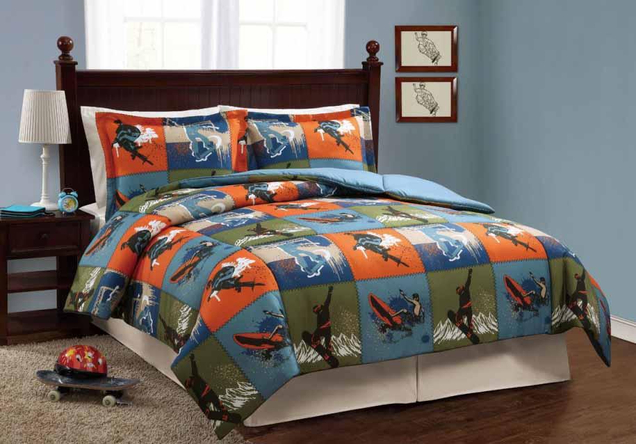 desain tempat tidur keren untuk kamar tidur anak2 remaja