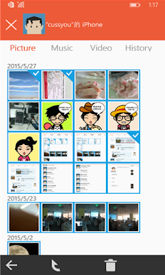 Features of Zapya apk for windows phone