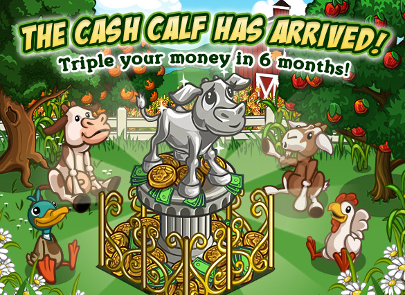 Farmville Cash Calf