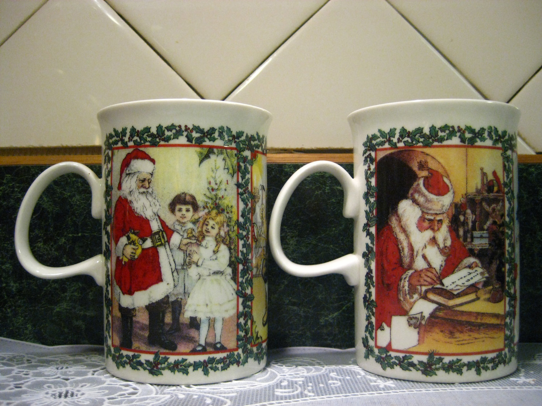 christmas mug drawing