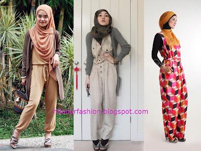 Ide Gaya Busana Vintage Wanita Muslimah Terbaru 2014