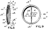 First Patented Button or Badge Pin