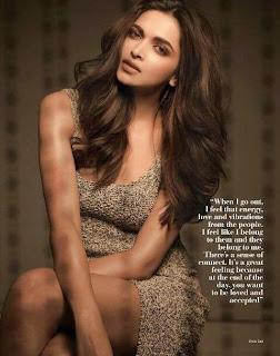 Deepika Padukone Looks Lovely Dusky in Filmfare Magazine May 2015 Issue