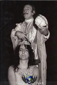 Alice Cooper e Salvador Dali