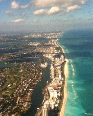 Miami Beach - Flugdauer Frankfurt Miami
