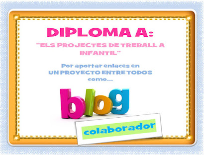 Diplomes per al blog