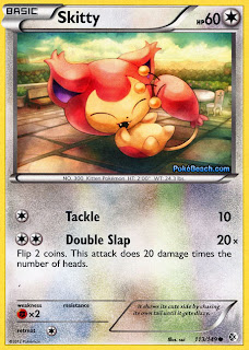 Skitty Boundaries Crossed Pokemon Card