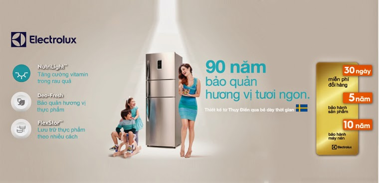 Địa chỉ Trung tâm bảo hành Tủ lạnh Electrolux tại nhà Hà Nội