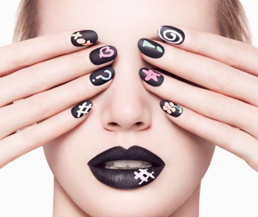 nail art Unhas Decoradas Tendência e Técnicas de Arte 2014