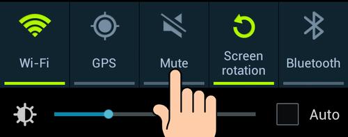 Mematikan suara kamera di android