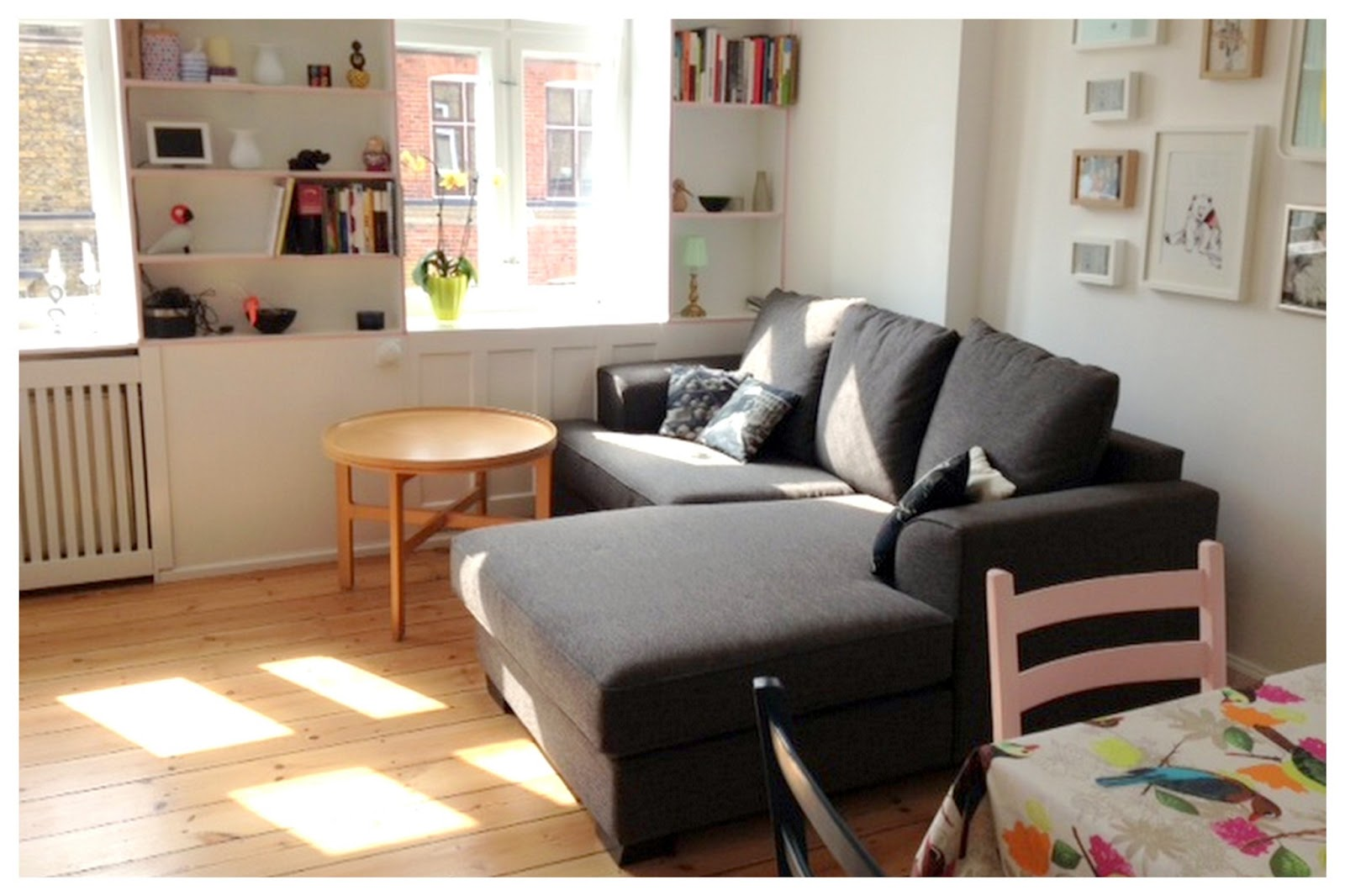 Camomilla: min stue er forandret...