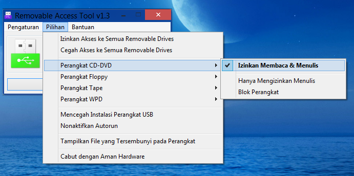Ratool terbaru 1.3 + Bahasa Indonesia (Software Pengunci Port USB ... 5. You can set a Password and prevent unauthorized changes