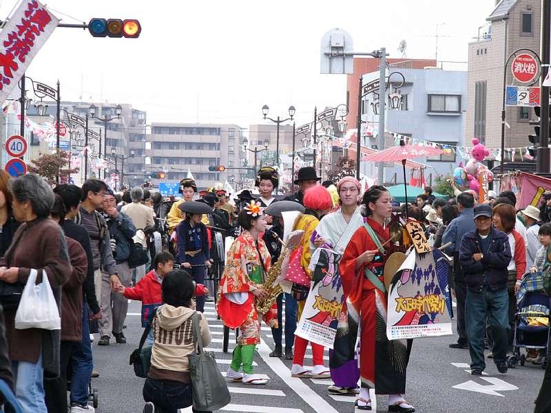 Yono Railway Station Dance Taisho Period Festival