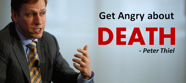 peter thiel death angry startup biotech